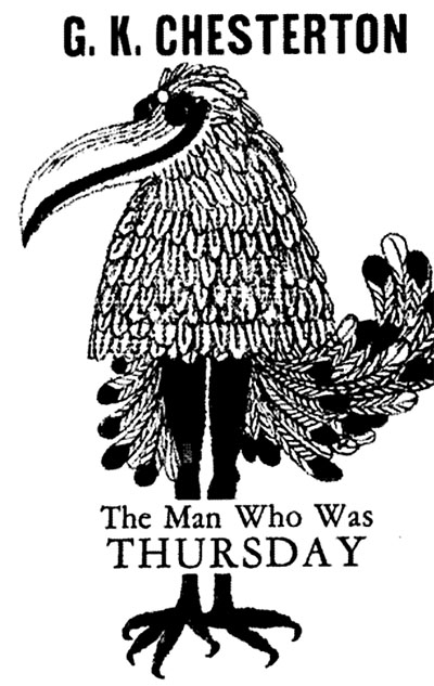 the man who was thursday The man who was thursday includes chesterton's favorite theme of christianity with touches of delightful humor to enliven the twists and turns that abound throughout.